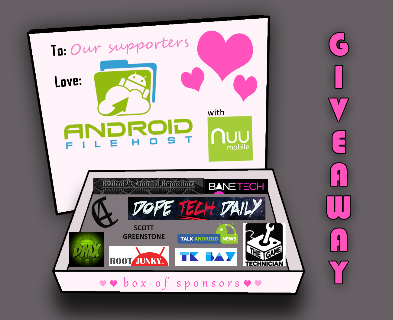 Valentine's Day Giveaway - We Love You!