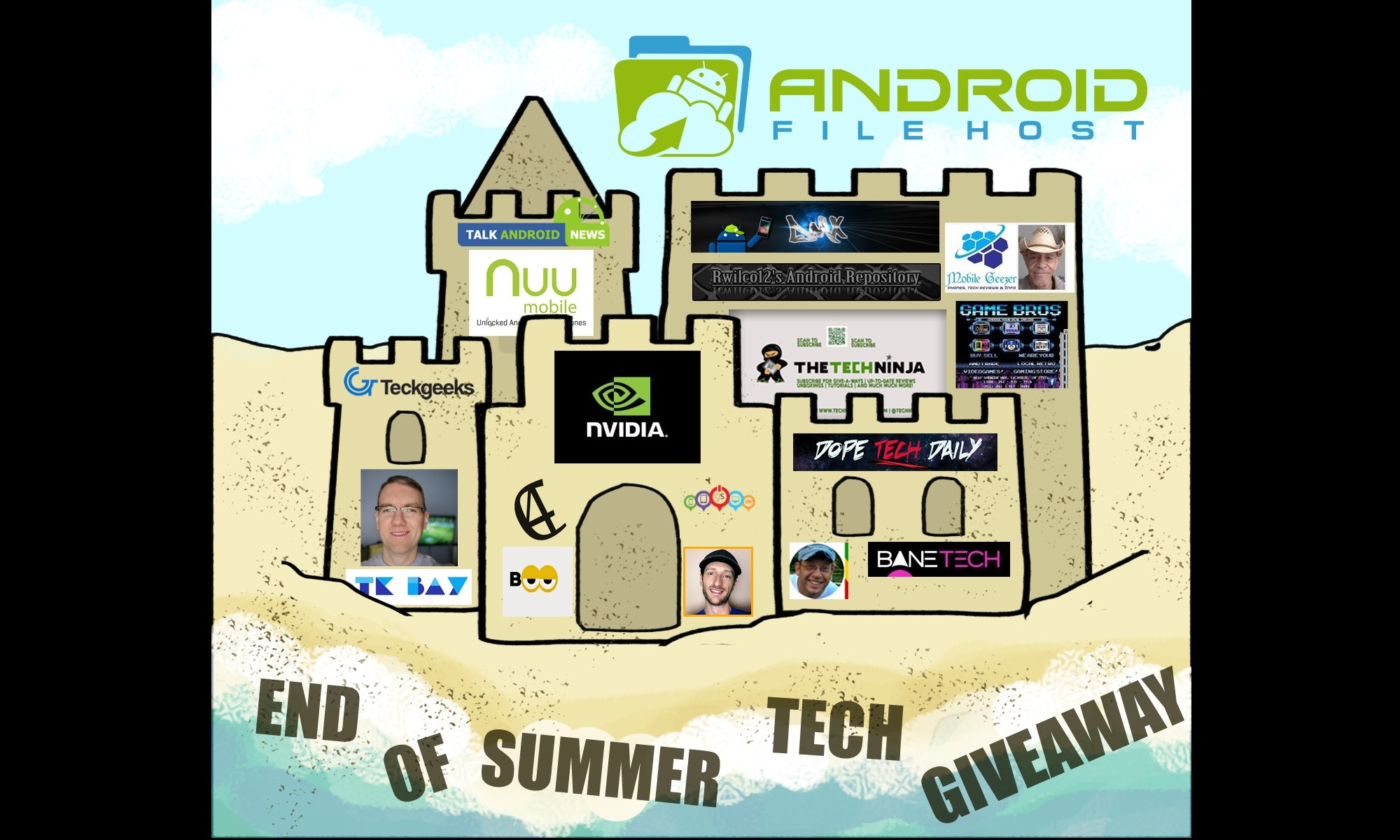 End of Summer Tech Giveaway!